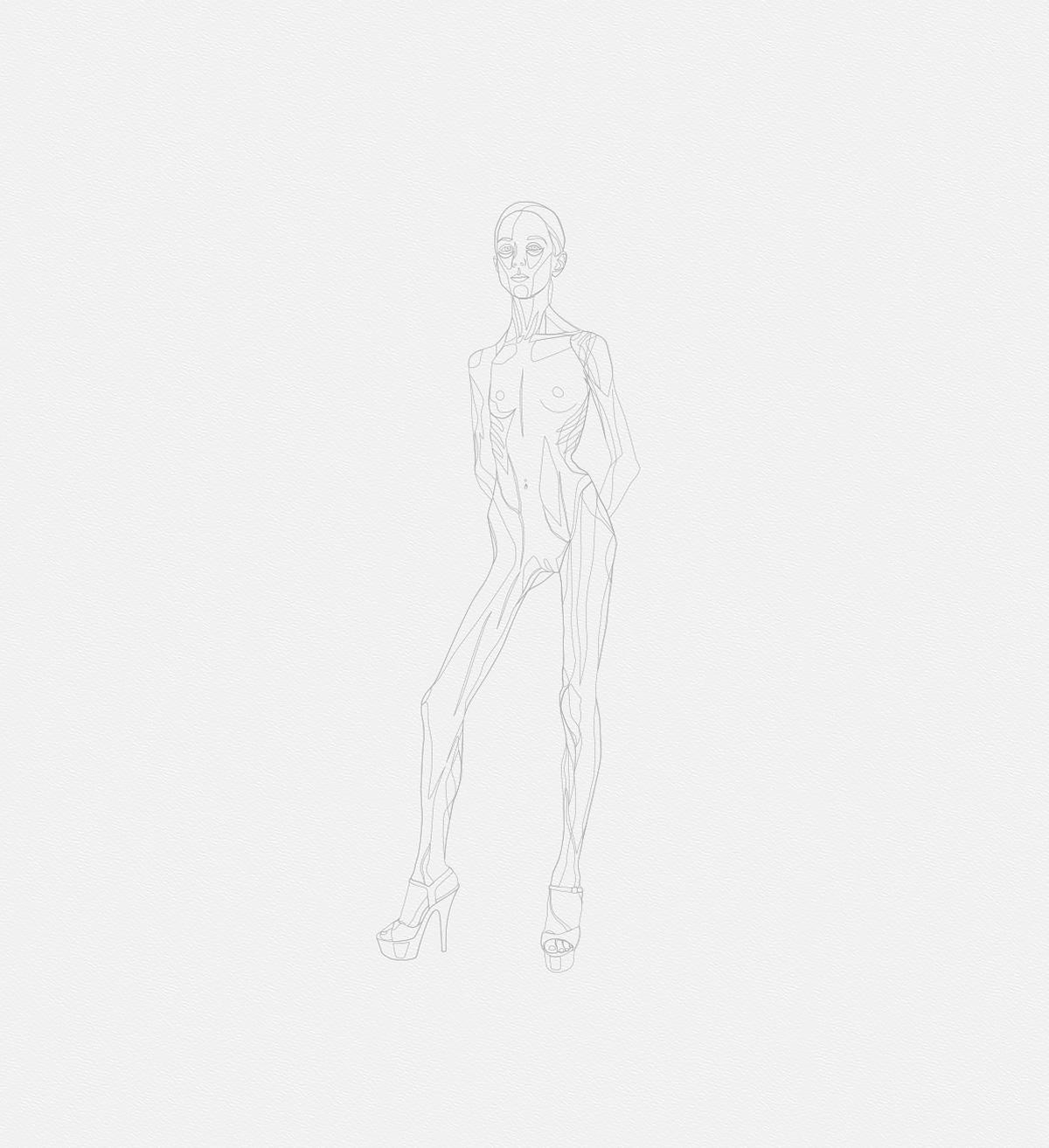160 2016 la petite danseuse drawbot 002 resume high tty art - 2016 - La petite danseuse - Drawbot