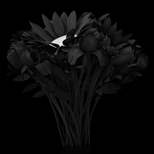 2014 eternal flowers the black set 2 003 tty art - 2014 - Eternal Flowers - The Black Set
