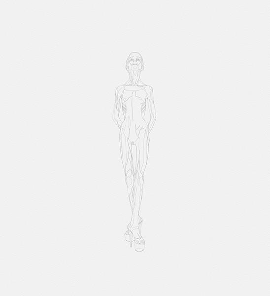2016 la petite danseuse drawbot 001 tty art - 2016 - La petite danseuse - Drawbot