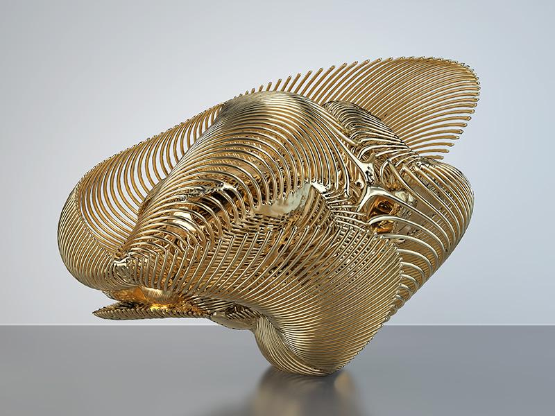 2016 sign of god fractal geometry the gold set 001a tty art - 2016 - Sign of God - Fractal - Geometry - The Gold Set