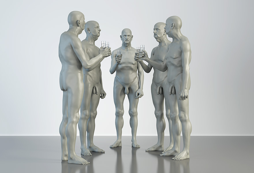 2016 the museum of homosapiens II human activities corporate people 005 tty art - 2016 - The Museum of HomoSapiens. II. Human Activities. Corporate People