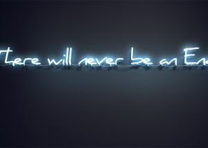 there will never be an end featured tty art 300x214 - Neon