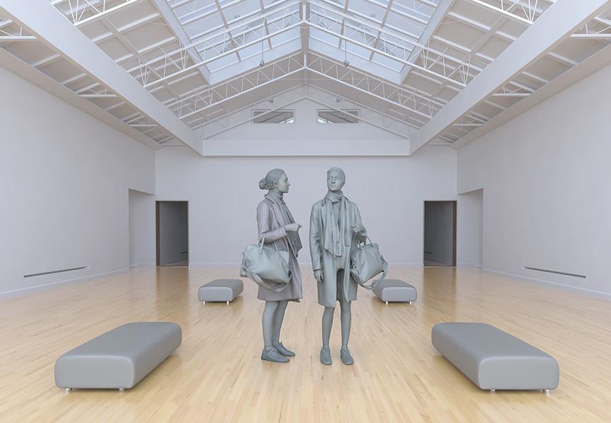 2017 le musée imaginaire modeles virtuels 002 tty art - 2017 - Le Musée Imaginaire. Modèles virtuels