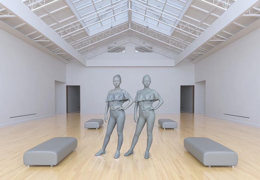 2017 le musée imaginaire modeles virtuels 004 tty art - 2017 - Le Musée Imaginaire. Modèles virtuels