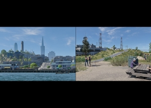 2018 Virtual Cities San Francisco Diptych N1 000 tty art 300x214 - 2018 - Virtual In-Game Cities. San Francisco. Diptych N°1