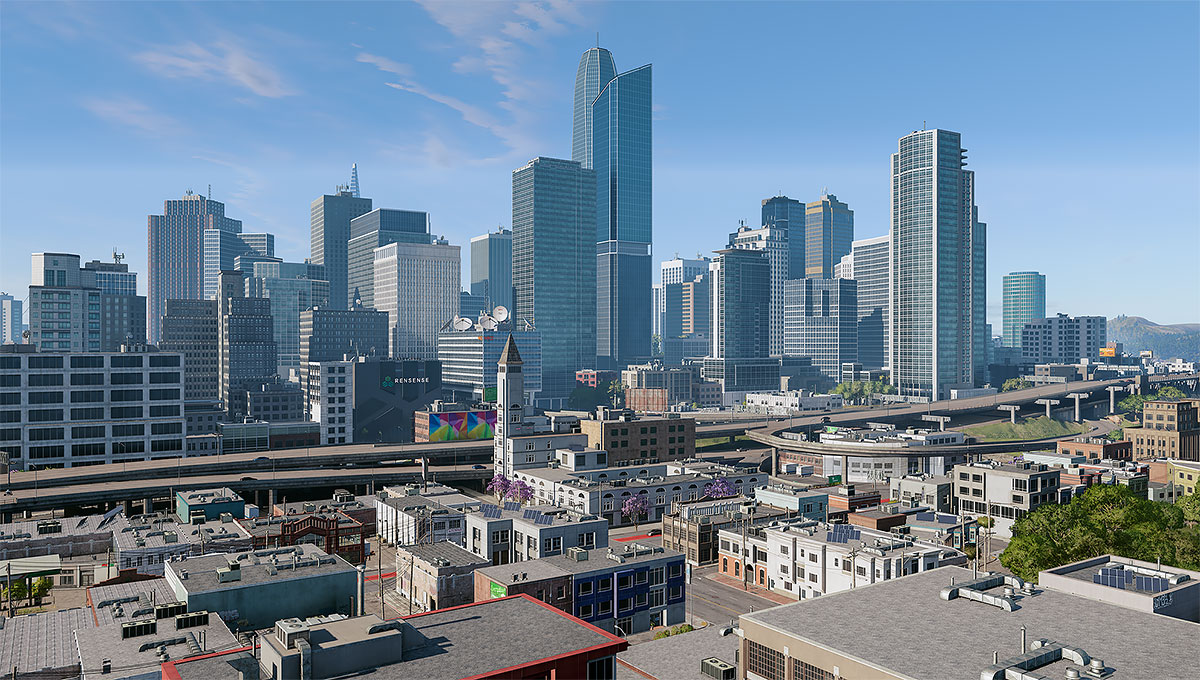 2018 Virtual Cities San Francisco Diptych N2 000 tty art 1200 - 2018 - Virtual In-Game Cities. San Francisco. Diptych N°2