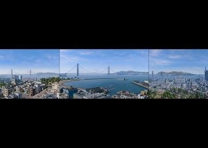 2018 Virtual Cities San Francisco Tritych N1 000 tty art 300x214 - 2018 - Virtual In-Game Cities. San Francisco. Triptych N°1