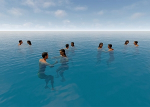 swiming people of the XXI century featured tty art 300x214 - Computer Animation