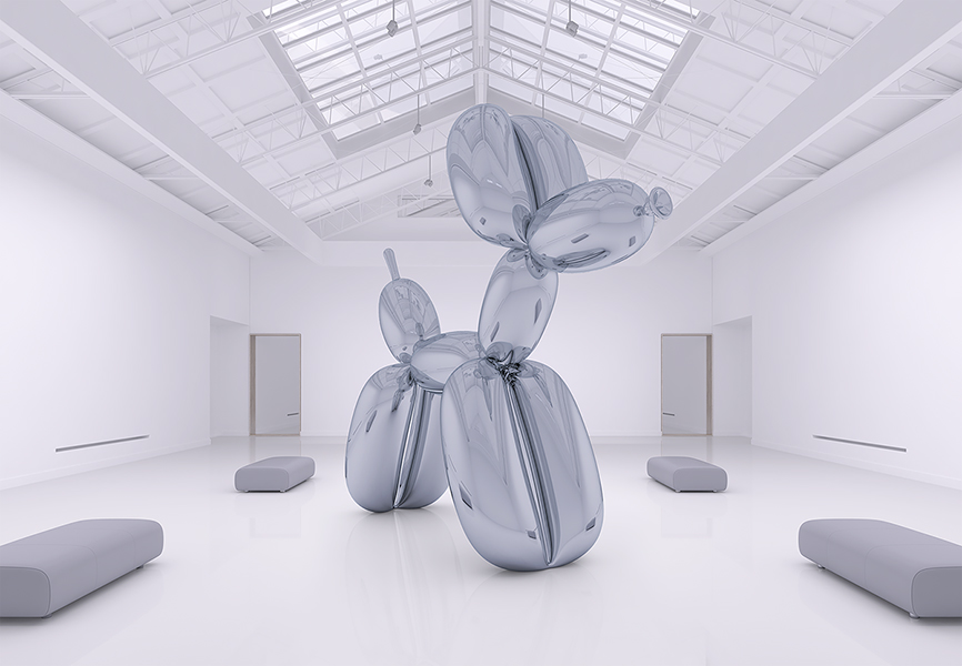 Three Months of Jeff Koons Life 002 - 2018 - Three Months of Jeff Koons' Life