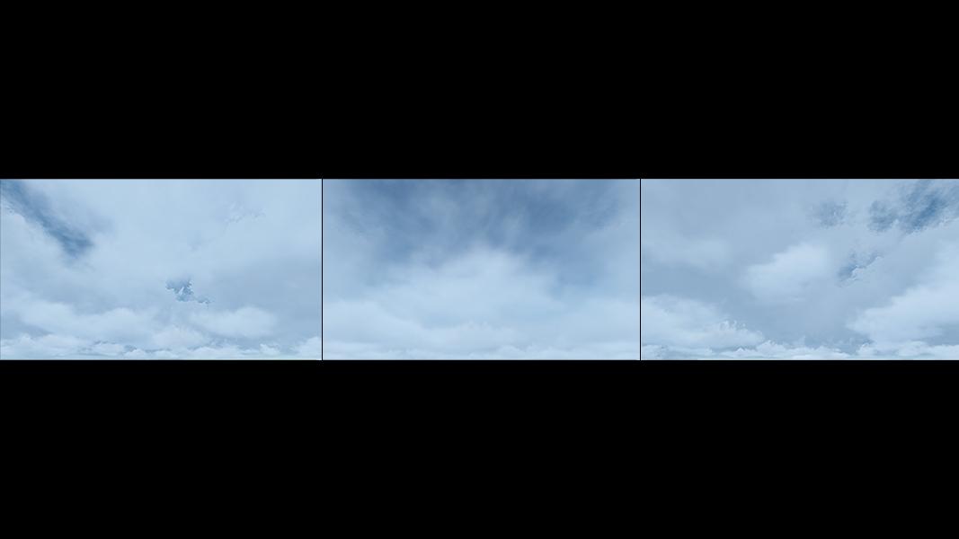 Virtual Clouds 000 - 2018 - Virtual Clouds. II. (Computer Art)