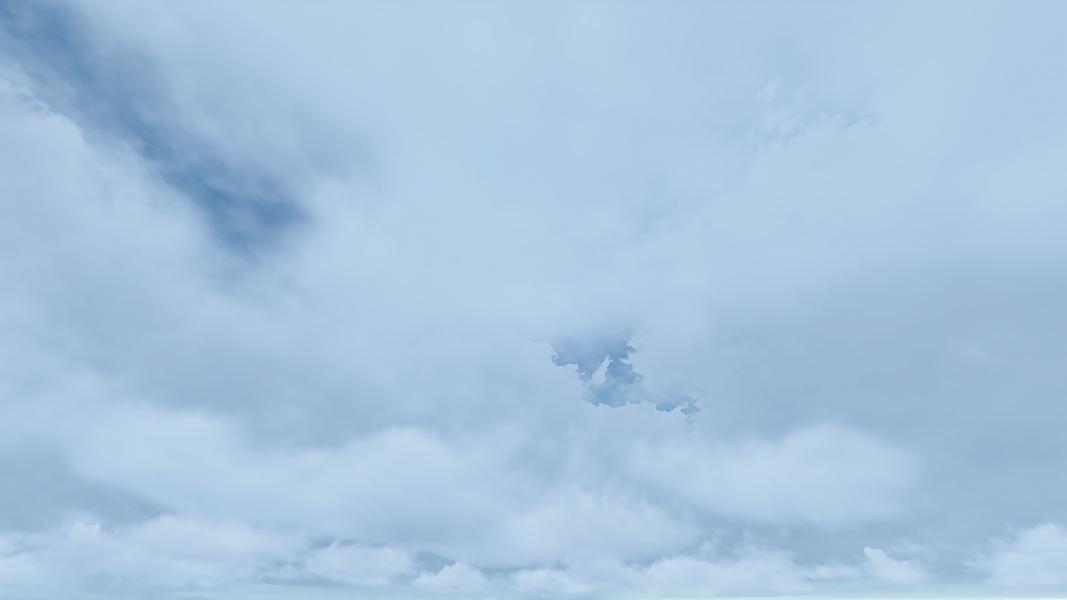 Virtual Clouds 001 - 2018 - Virtual Clouds. II. (Computer Art)