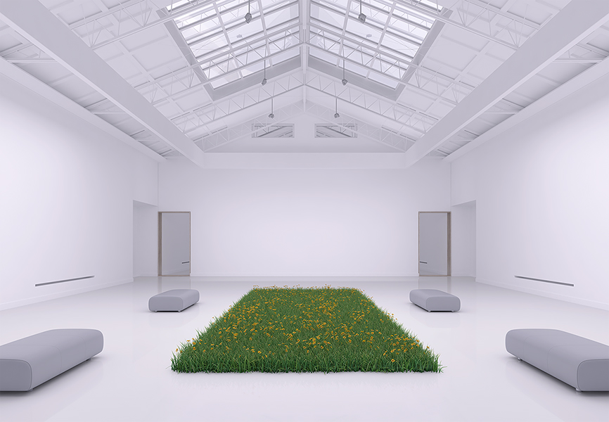 Virtual Flowers and Grass 002 - 2018 - Virtual Flowers and Grass