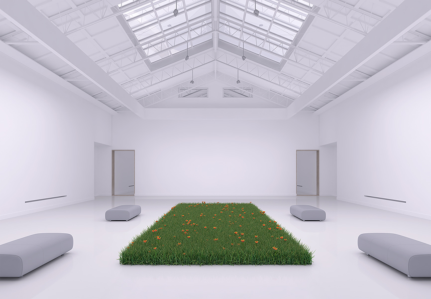 Virtual Flowers and Grass 004 - 2018 - Virtual Flowers and Grass