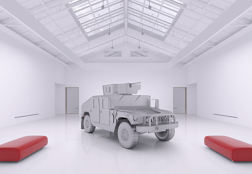 The Museum of Homosapiens Military Vehicles 001 - 2018 - The Museum of HomoSapiens. Military Vehicles