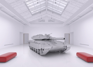 The Museum of Homosapiens Military Vehicles 002 300x214 - Virtual Photography