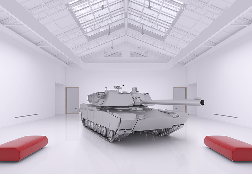 The Museum of Homosapiens Military Vehicles 003 - 2018 - The Museum of HomoSapiens. Military Vehicles