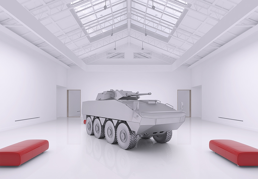 The Museum of Homosapiens Military Vehicles 004 - 2018 - The Museum of HomoSapiens. Military Vehicles