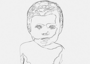 The baby Lea DrawBot 001 300x214 - 2019 - The baby. Lea. V1