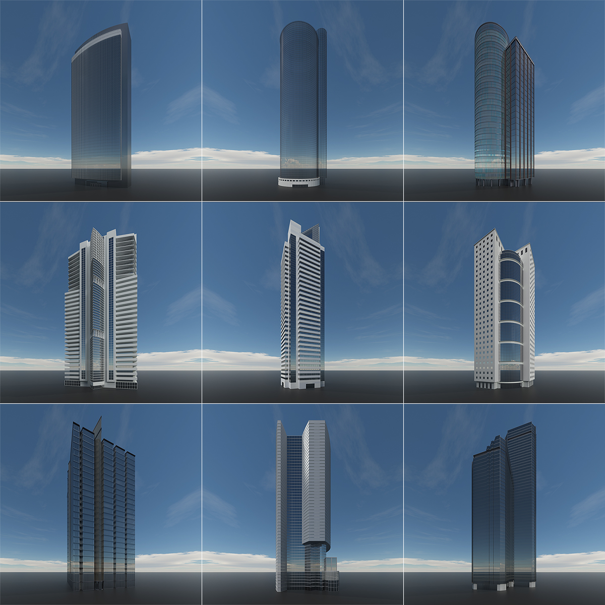 This was HomoSapiens SkyScrapers 000 1 - 2019 - This was HomoSapiens. SkyScrapers