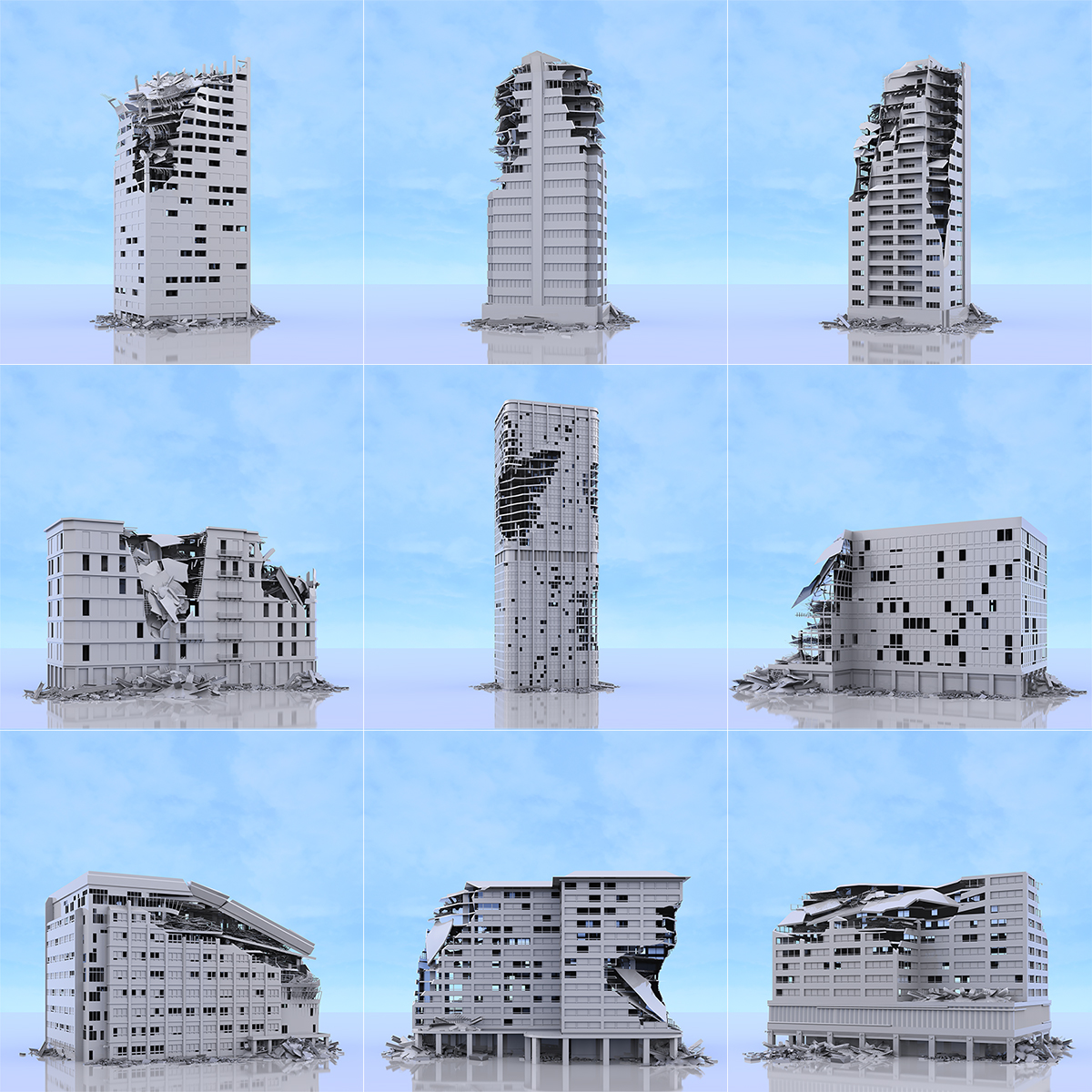 This was HomoSapiens War Affected Buildings 000 1 - 2019 - This was HomoSapiens. War-Affected Buildings