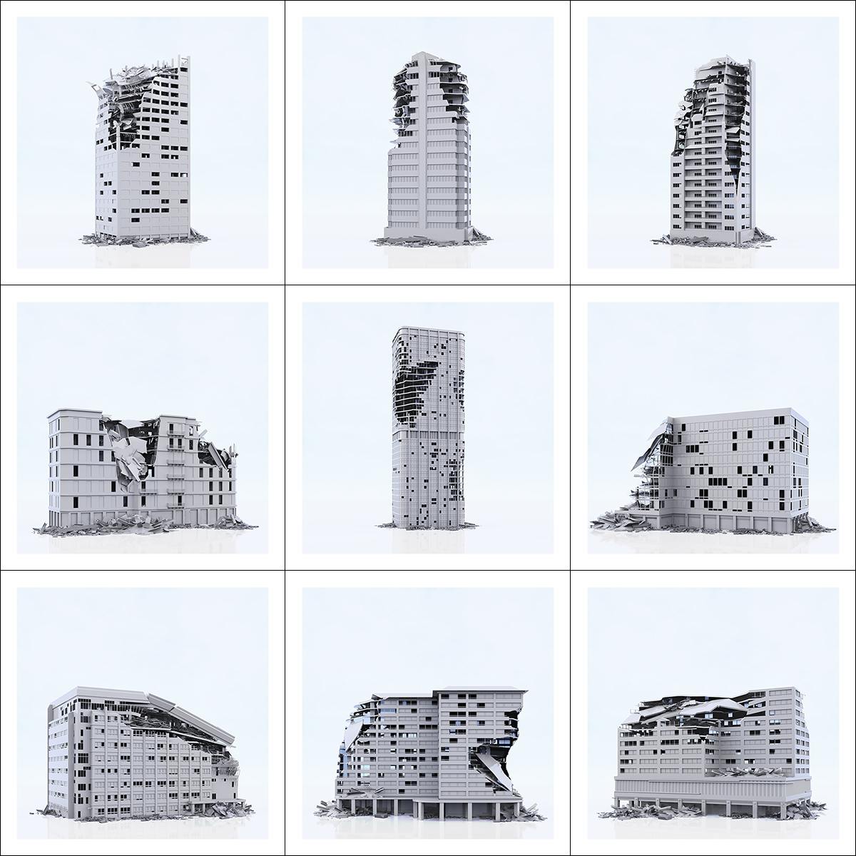 This was HomoSapiens War Affected Buildings 000 2 - 2019 - This was HomoSapiens. War-Affected Buildings