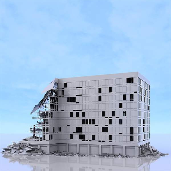This was HomoSapiens War Affected Buildings 006 - 2019 - This was HomoSapiens. War-Affected Buildings