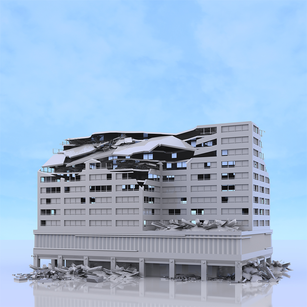 This was HomoSapiens War Affected Buildings 009 1 - 2019 - This was HomoSapiens. War-Affected Buildings