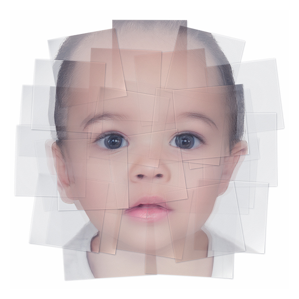 Generated Faces by Artificial Intelligence Kids 002 - 2019 - Generated Faces by Artificial Intelligence. Kids. V1