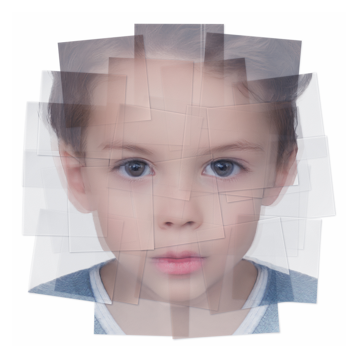 Generated Faces by Artificial Intelligence Kids 004 1 - 2019 - Generated Faces by Artificial Intelligence. Kids. V1