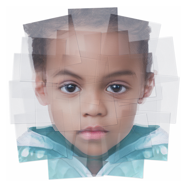 Generated Faces by Artificial Intelligence Kids 005 - 2019 - Generated Faces by Artificial Intelligence. Kids. V1