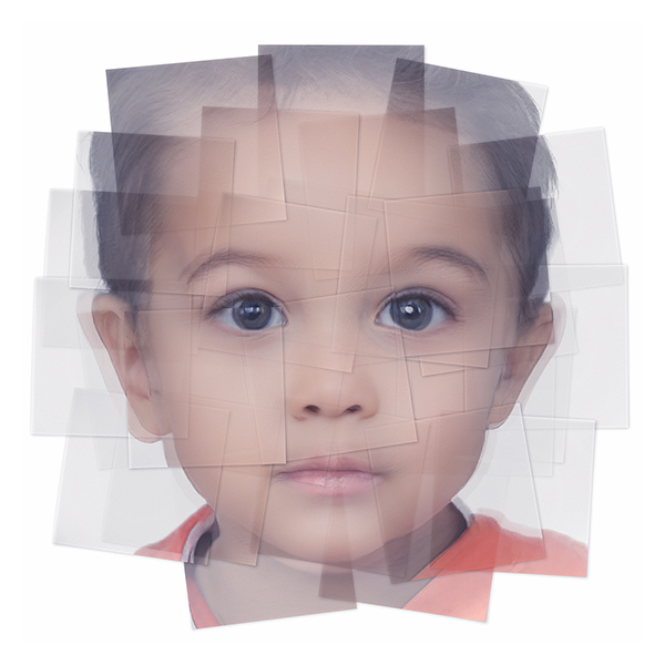 Generated Faces by Artificial Intelligence Kids 008 - 2019 - Generated Faces by Artificial Intelligence. Kids. V1