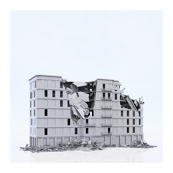 This was HomoSapiens War Affected Buildings 004 - 2019 - This was HomoSapiens. War-Affected Buildings