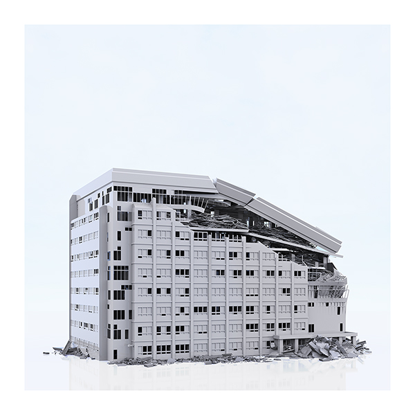 This was HomoSapiens War Affected Buildings 007 - 2019 - This was HomoSapiens. War-Affected Buildings