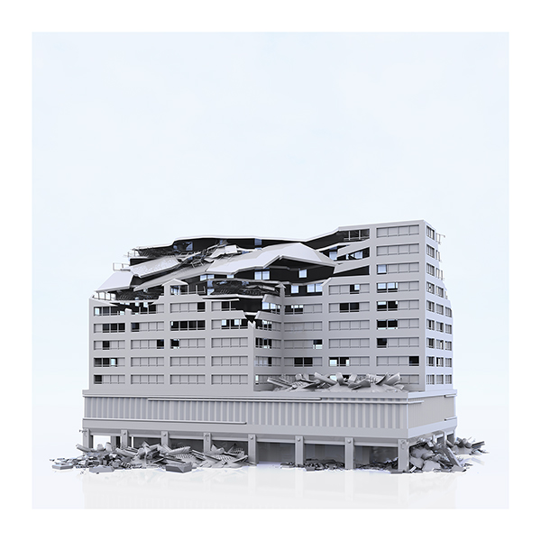 This was HomoSapiens War Affected Buildings 009 - 2019 - This was HomoSapiens. War-Affected Buildings
