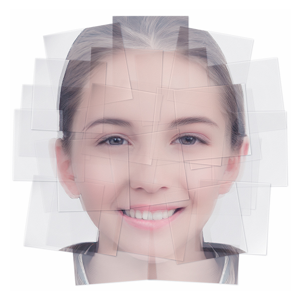 Generated Faces by Artificial Intelligence Teens 001 - 2019 - Generated Faces by Artificial Intelligence. Teens. V1