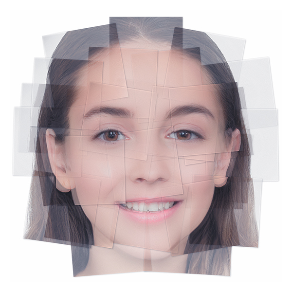 Generated Faces by Artificial Intelligence Teens 003 - 2019 - Generated Faces by Artificial Intelligence. Teens. V1