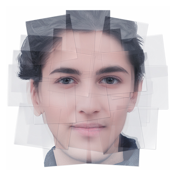 Generated Faces by Artificial Intelligence Teens 006 - 2019 - Generated Faces by Artificial Intelligence. Teens. V1