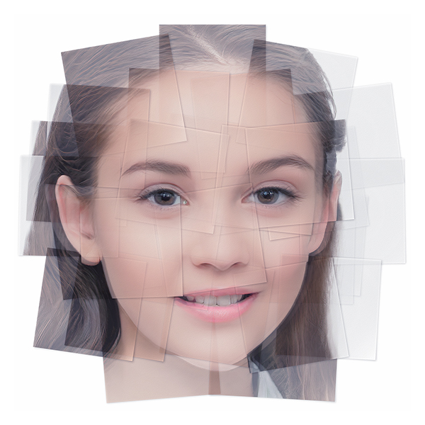 Generated Faces by Artificial Intelligence Teens 007 - 2019 - Generated Faces by Artificial Intelligence. Teens. V1