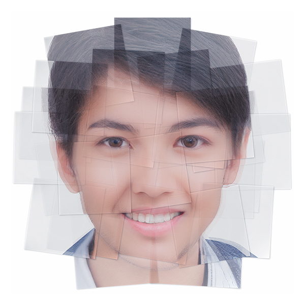 Generated Faces by Artificial Intelligence Teens 008 - 2019 - Generated Faces by Artificial Intelligence. Teens. V1