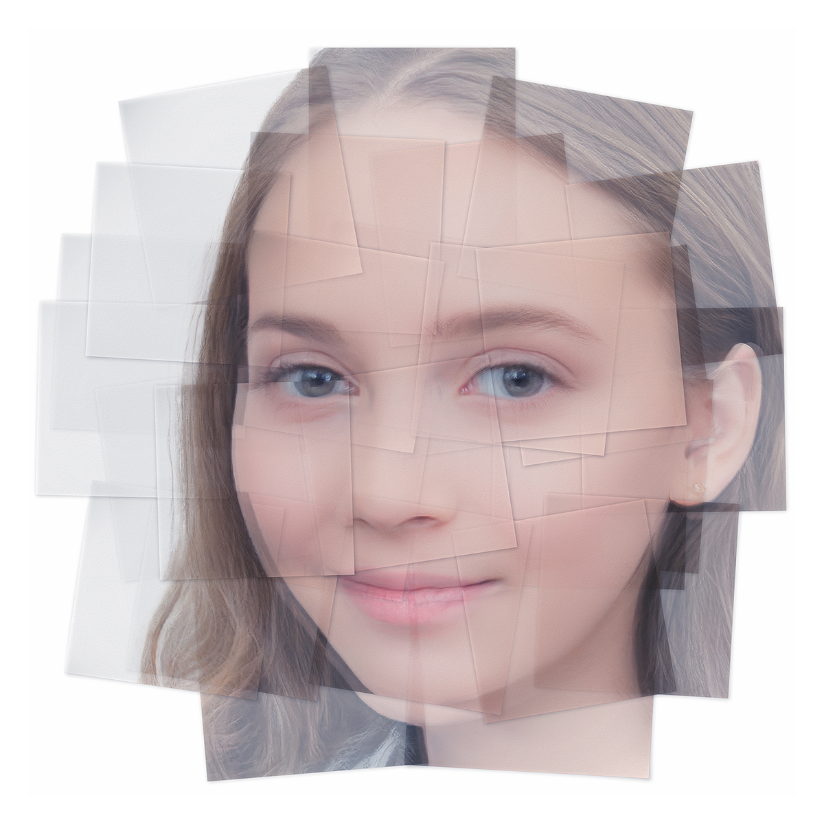 Generated Faces by Artificial Intelligence Teens 009 1 - 2019 - Generated Faces by Artificial Intelligence. Teens. V1