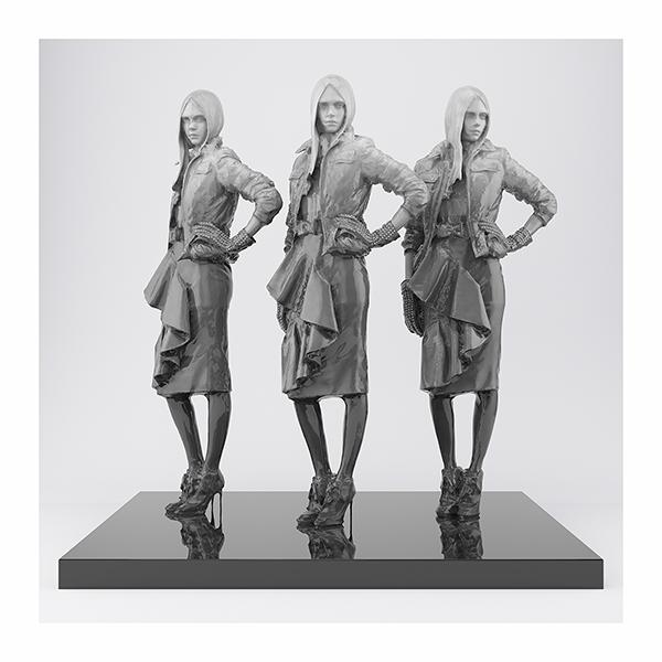 This was HomoSapiens VI FashionModel 003 - 2019 - This was HomoSapiens. VI. (Fashion Model)