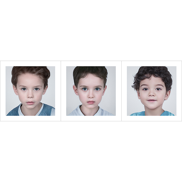 Generated Faces by AI Kids Boys V1 000 - 2020 - Generated Faces by Artificial Intelligence. Kids, Boys. V1