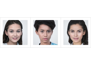 Generated Faces by AI Teens Girls V1 000 300x214 - 2020 - Generated Faces by Artificial Intelligence. Teens, Girls. V1