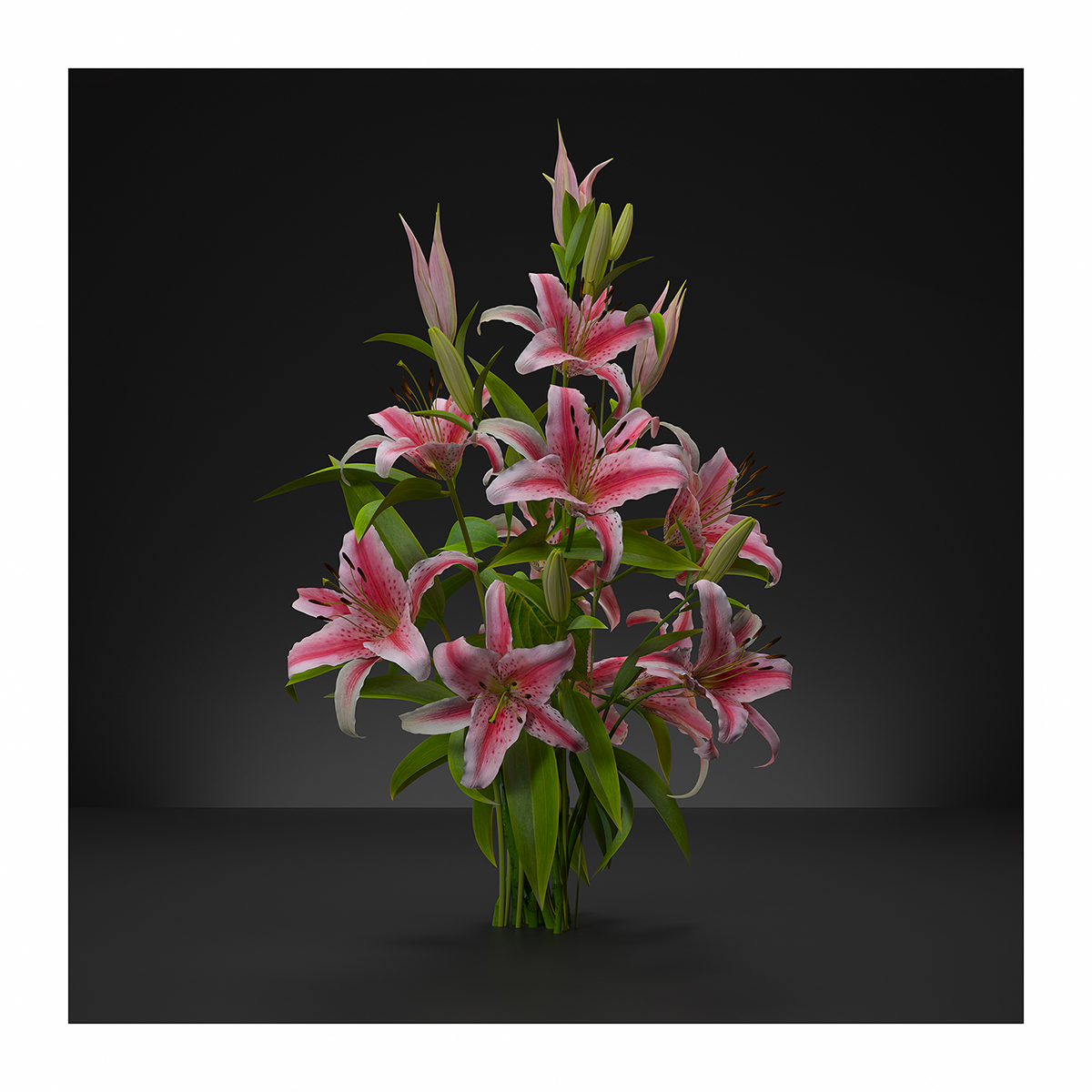 Virtual Flowers Bouquet N1 1 - 2020 - Virtual Flowers. Bouquet N°1