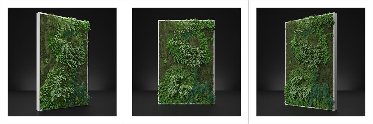 Virtual Vertical Garden N1 000 1200 400 - 2020 - Virtual Vertical Garden N°1