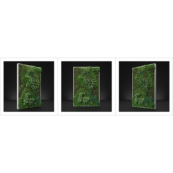 Virtual Vertical Garden N1 000 - 2020 - Virtual Vertical Garden N°1