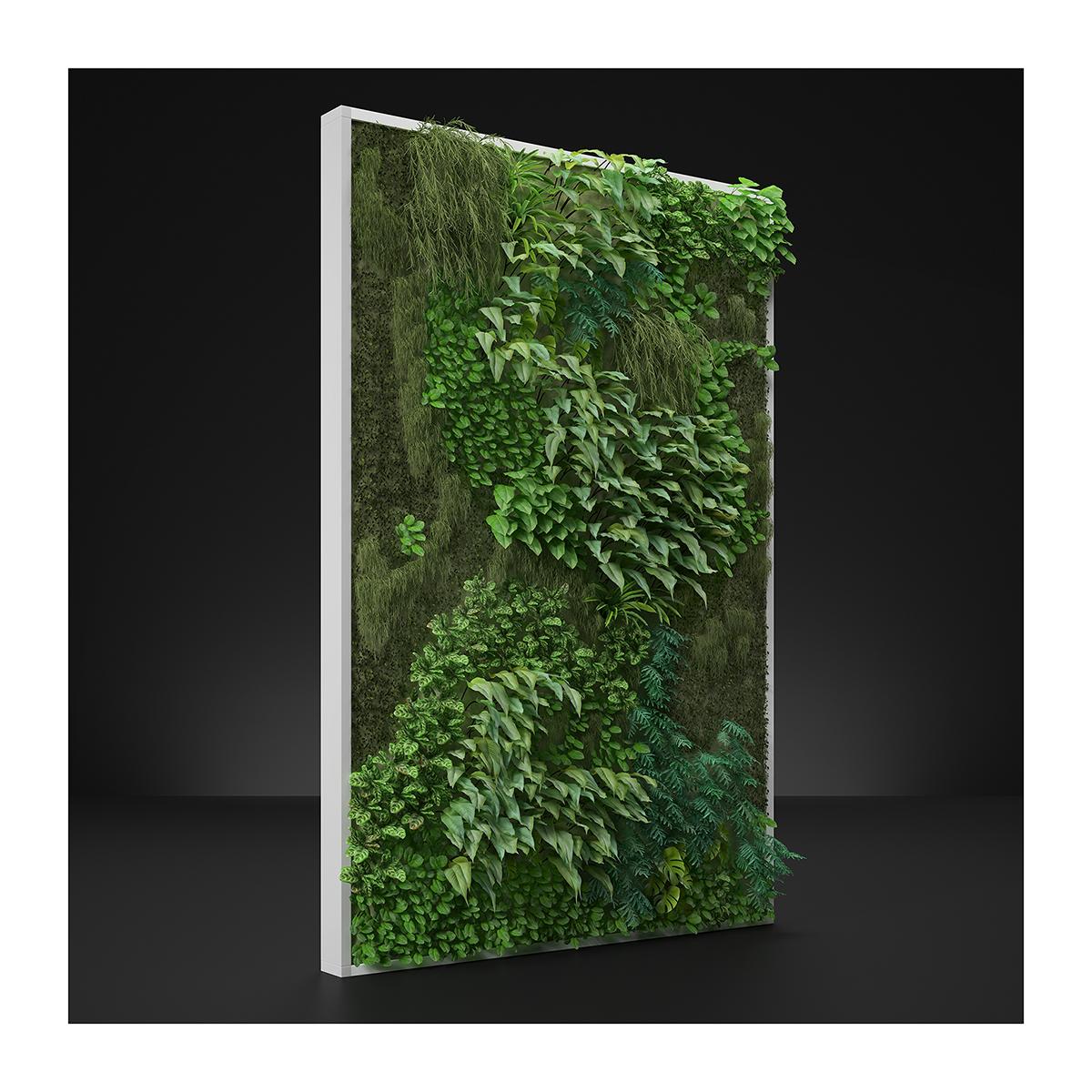 Virtual Vertical Garden N1 001 1 - 2020 - Virtual Vertical Garden N°1