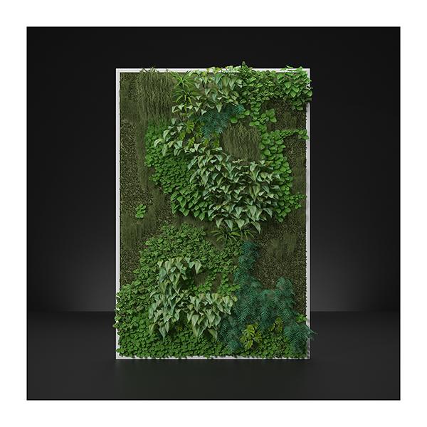 Virtual Vertical Garden N1 002 - 2020 - Virtual Vertical Garden N°1