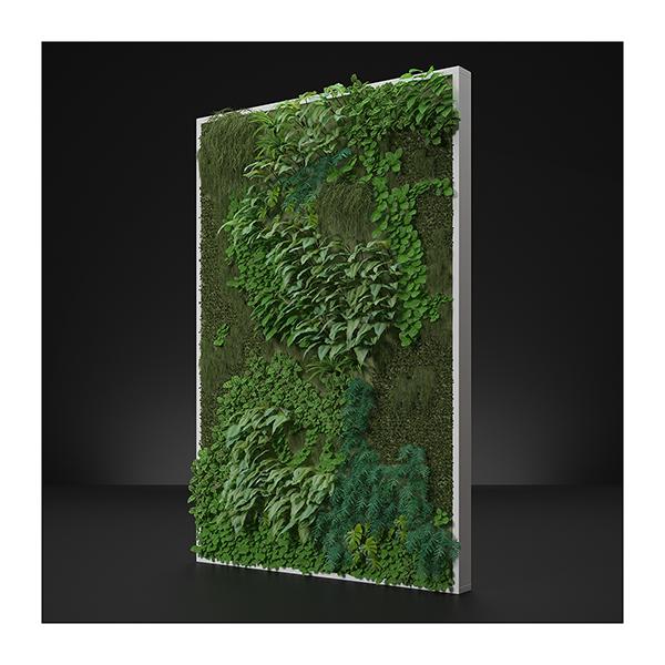 Virtual Vertical Garden N1 003 - 2020 - Virtual Vertical Garden N°1