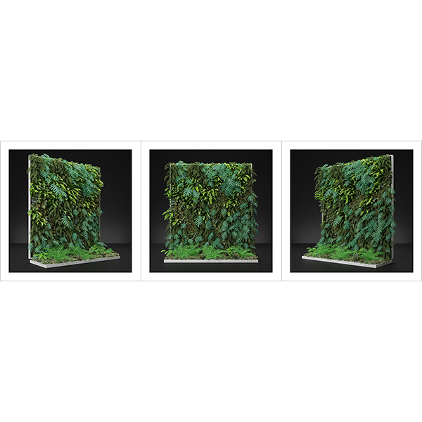 Virtual Vertical Garden N2 000 - 2020 - Virtual Vertical Garden N°2